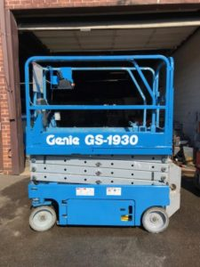 genie used scissor lifts