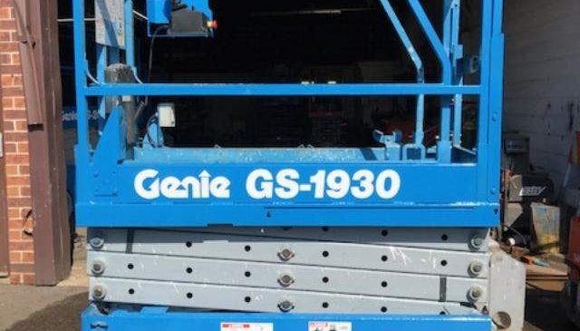genie used scissor lifts