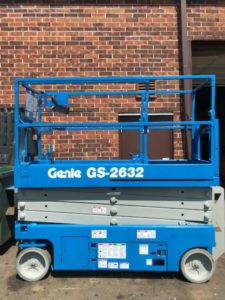 used genie scissor lifts