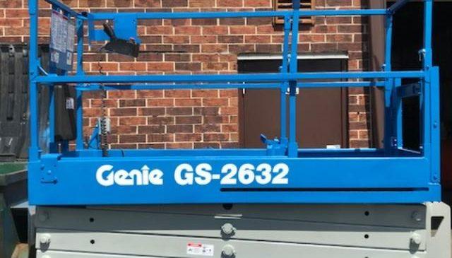 used genie scissor lifts
